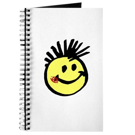 Smiley Face with Mohawk Journal