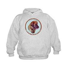 leonberger puppy love Hoodie