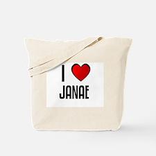 I LOVE JANAE Tote Bag