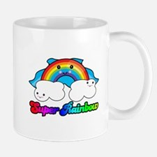 Super Rainbow Superhero Mug