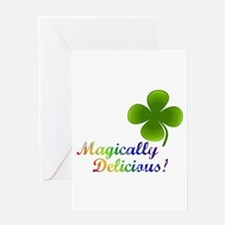Magically Delicious! Greeting Card