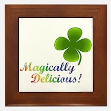 Magically Delicious! Framed Tile