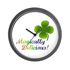 Magically Delicious! Wall Clock