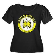 Sarcoma Survivor Butterfly T