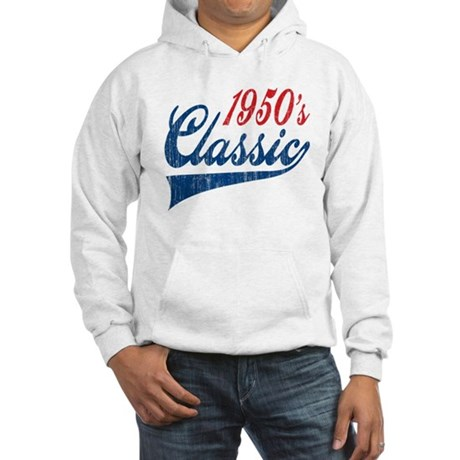 1950's Classic Birthday Hooded Sweatshirt