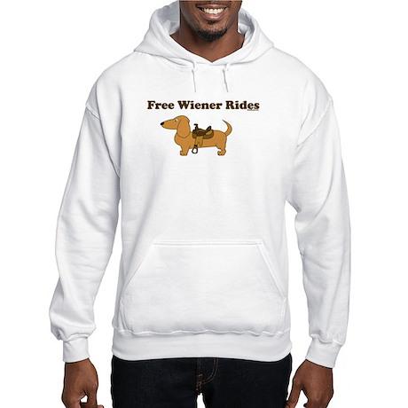 Wiener Rides 25 cents Hooded Sweatshirt