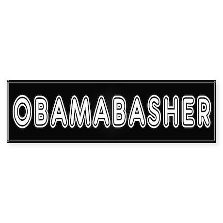 Obama Bashing Bumper Sticker
