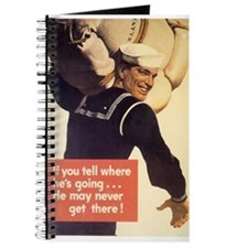 Navy WWII Poster Journal