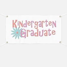 Kindergarten Graduate Banner