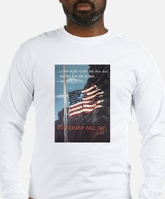 Navy WWII Poster Long Sleeve T-Shirt