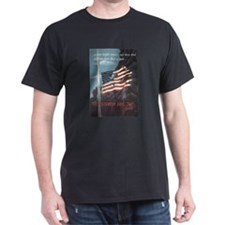 Navy WWII Poster T-Shirt
