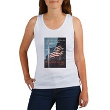 Navy WWII Poster Women's Tank Top