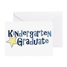 Boy Kindergarten Graduate Greeting Card