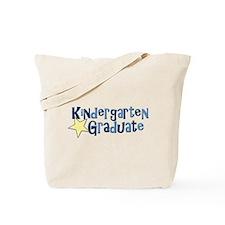 Boy Kindergarten Graduate Tote Bag