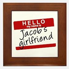 Twilight - Jacob's Girlfriend Framed Tile