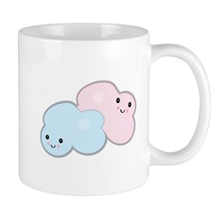 Happy Pastel Clouds Mug