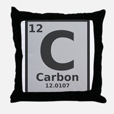 Carbon Throw Pillow