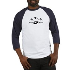 Diver Down Baseball Jersey