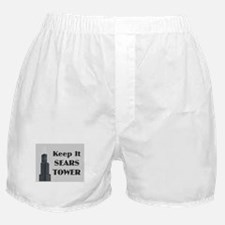 Keep It Sears Tower Boxer Shorts