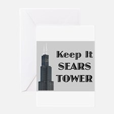 Keep It Sears Tower Greeting Card