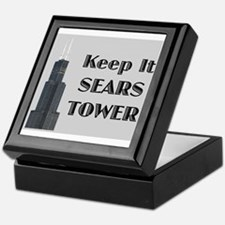Keep It Sears Tower Keepsake Box