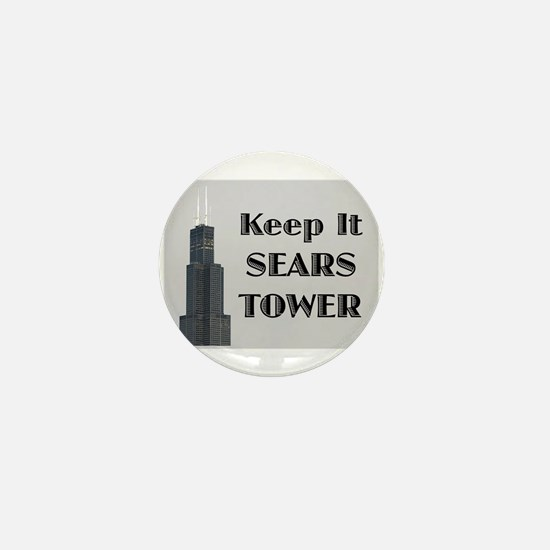 Keep It Sears Tower Mini Button