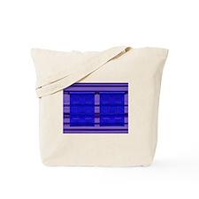 Wall ART Navy/Purple Tote Bag