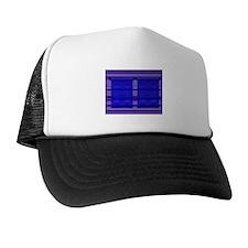 Wall ART Navy/Purple Trucker Hat