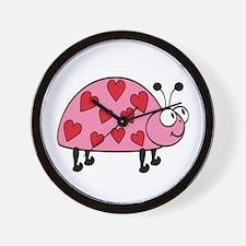 Lucky Love Bug Wall Clock