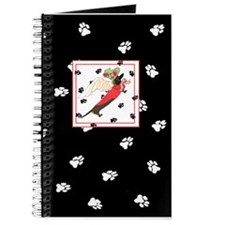 Black Dachshund Black Paws Journal