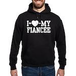 I Love My Fiancee Hoodie (dark)