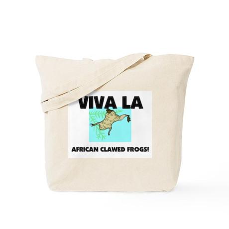 Viva La African Clawed Frogs Tote Bag