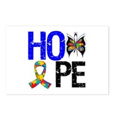 Autism HOPE Postcards (Package of 8)