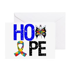 Autism HOPE Greeting Cards (Pk of 20)