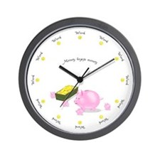 Working Round the Clock Wall Clock