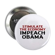 """Impeach Obama 2.25"""" Button"""