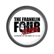 The Franklin Four Wall Clock