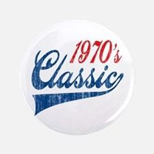 "1970's Classic Birthday 3.5"" Button"