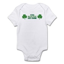 Victoria lucky charms Infant Bodysuit