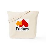 Goldfish hate Fridays Tote Bag