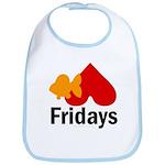 Goldfish hate Fridays Bib