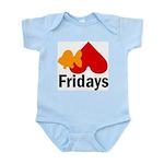 Goldfish hate Fridays Infant Creeper