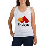 Goldfish hate Fridays Women's Tank Top