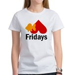 Goldfish hate Fridays Women's T-Shirt
