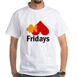 Goldfish hate Fridays White T-Shirt