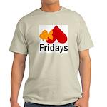 Goldfish hate Fridays Ash Grey T-Shirt