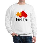 Goldfish hate Fridays Sweatshirt