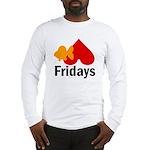 Goldfish hate Fridays Long Sleeve T-Shirt