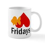 Goldfish hate Fridays Mug