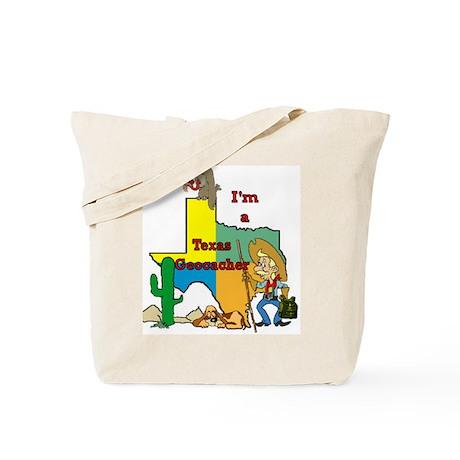 Texas Geocaching Tote Bag